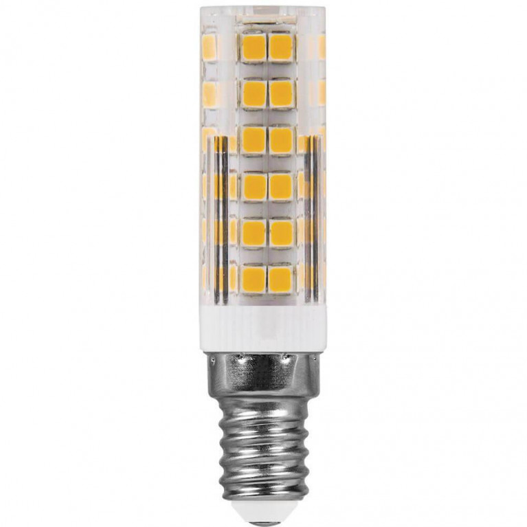 Лампа светодиодная Feron E14 7W 4000K Прямосторонняя Матовая LB-433 25899