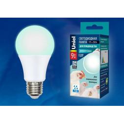 Лампа светодиодная диммируемая для бройлеров E27 9W LED-A60-9W/SCBG/E27/FR/DIM IP65 PLO65WH