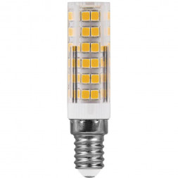 Лампа светодиодная Feron E14 7W 6400K Прямосторонняя Матовая LB-433 25986