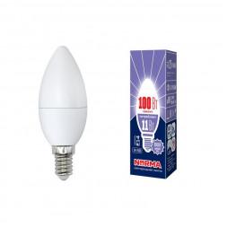 Лампа светодиодная (UL-00003810) E14 11W 6500K матовая LED-C37-11W/DW/E14/FR/NR