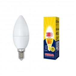 Лампа светодиодная (UL-00003812) E14 11W 3000K матовая LED-C37-11W/WW/E14/FR/NR