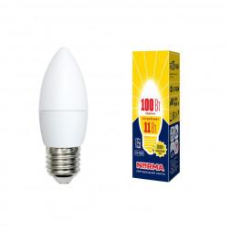 Лампа светодиодная (UL-00003815) E27 11W 3000K матовая LED-C37-11W/WW/E27/FR/NR