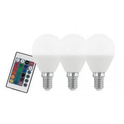 Лампа светодиодная диммируемая E14 4W 3000K матовая 10683
