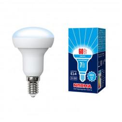 Лампа светодиодная (UL-00003844) E14 7W 4000K матовая LED-R50-7W/NW/E14/FR/NR