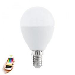 Лампа светодиодная диммируемая E14 5W 2700-6500K матовая 11672