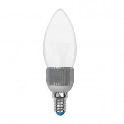 Лампа светодиодная диммируемая (08747) E14 5W 3000K матовая LED-C37P-5W/WW/E14/FR/DIM