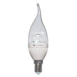 Лампа светодиодная диммируемая E14 6,5W 2700K прозрачная LC-CDTCL-D-6.5/E14/827 L232