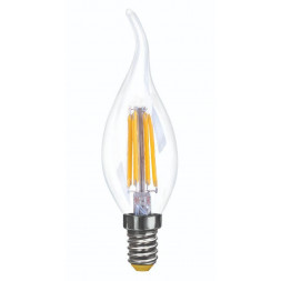 Лампа светодиодная диммируемая E14 6W 2800K прозрачная VG10-CW35E14warm6W-FD 7080