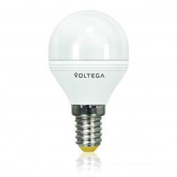 Лампа светодиодная диммируемая E14 6W 2800К матовая VG2-G2E14warm6W-D 5493