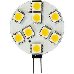 Лампа светодиодная Feron G4 3W 4000K Таблетка Матовая LB-16 25093