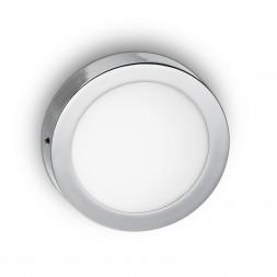Настенно-потолочный светодиодный светильник Ideal Lux Universal 24W Round Cromo