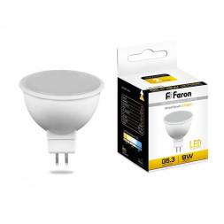 Лампа светодиодная Feron MR16 G5.3 9W 2700K Грибок матовая LB-560 25839