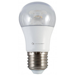Лампа светодиодная диммируемая E14 7,5W 2700K прозрачная LC-P45CL-D-7.5/E14/827 L236