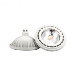 Лампа светодиодная GU10 15W 4000K прозрачная 9831
