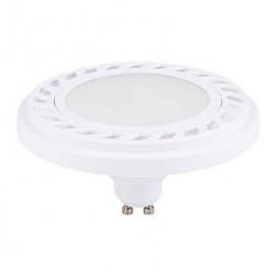 Лампа светодиодная GU10 9W 3000K матовая 9344