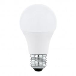 Лампа светодиодная диммируемая E27 10W 4000K матовая 11562