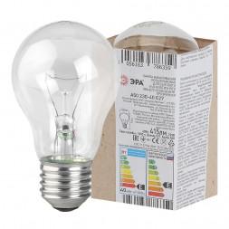 Лампа накаливания Е27 40W прозрачная A50 40-230-Е27