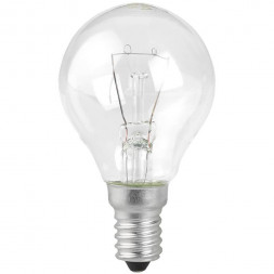 Лампа накаливания ЭРА E14 60W прозрачная ДШ 60-230-E14-CL