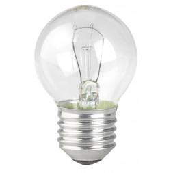 Лампа накаливания ЭРА E27 60W 2700K прозрачная ЛОН ДШ А45)-60Вт-230V-E27 (гофра)