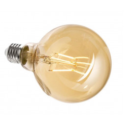 Лампа накаливания e27 4,4w 2200k груша прозрачная 180060