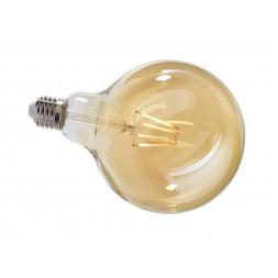 Лампа накаливания e27 4,4w 2200k груша прозрачная 180066