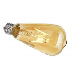 Лампа накаливания e27 4,4w 2200k груша прозрачная 180070