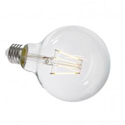 Лампа накаливания e27 4,4w 2700k груша прозрачная 180058
