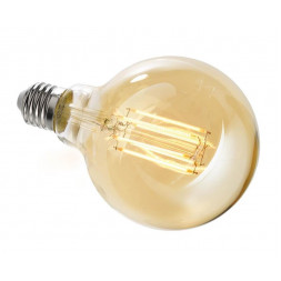 Лампа накаливания e27 8,5w 2200k груша прозрачная 180063
