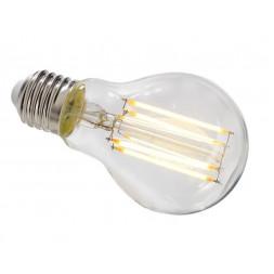 Лампа накаливания e27 8,5w 2700k груша прозрачная 180056