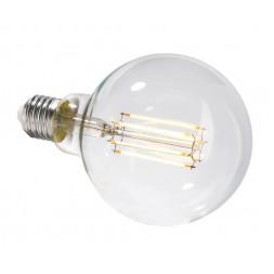 Лампа накаливания e27 8,5w 2700k груша прозрачная 180061