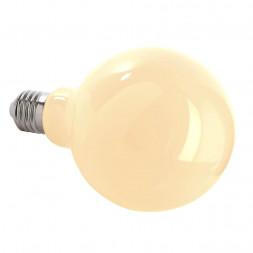 Лампа накаливания e27 8,5w 2700k груша прозрачная 180062