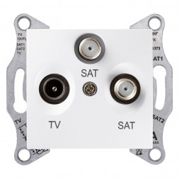 Розетка TV/SAT/SAT Schneider Electric Sedna SDN3502121
