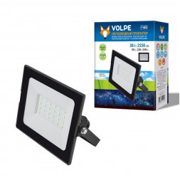 Прожектор светодиодный (UL-00003984) Volpe ULF-Q513 30W/DW IP65 220-240В Black