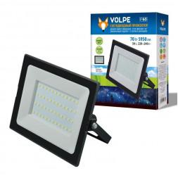 Прожектор светодиодный (UL-00004343) Volpe ULF-Q513 70W/6500K IP65 220-240В Black