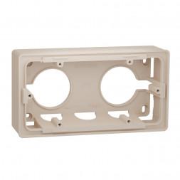Коробка двухмодульная для открытой установки Schneider Electric Unica New NU800444