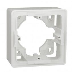 Коробка одномодульная для открытой установки Schneider Electric Unica New NU800218
