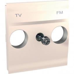 Накладка розетки TV-FM Schneider Electric Unica MGU9.440.25
