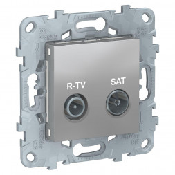 Розетка R-TV/SAT одиночная Schneider Electric Unica New NU545430