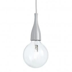 Подвесной светильник Ideal Lux Minimal SP1 Grigio