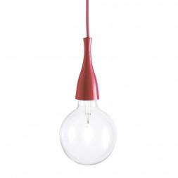 Подвесной светильник Ideal Lux Minimal SP1 Rosso
