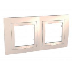 Рамка 2-постовая Schneider Electric Unica MGU2.004.25