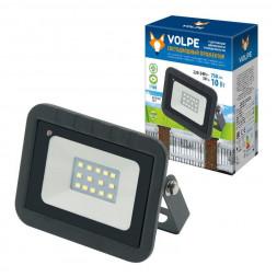 Прожектор светодиодный (UL-00003168) Volpe 10W 6500K ULF-Q512 10W/DW Sensor IP65 220-240B Black