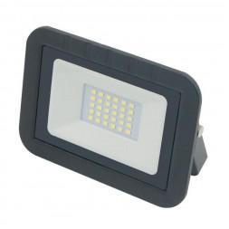 Прожектор светодиодный (UL-00003287) Volpe 30W 3000K ULF-Q511 30W/WW IP65 220-240В Black