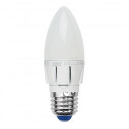 Лампа светодиодная диммируемая (08689) E27 6W 4500K матовая LED-C37-6W/NW/E27/FR/DIM