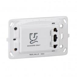 Розетка Schneider Electric Unica для электробритв MGU5.064.18