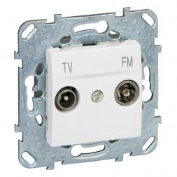 Розетка TV-FM одиночная Schneider Electric Unica MGU5.451.18ZD