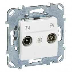 Розетка TV-FM оконечная Schneider Electric Unica MGU5.452.18ZD