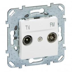 Розетка TV-FM проходная Schneider Electric Unica MGU5.453.18ZD