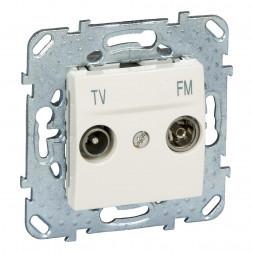 Розетка TV-FM проходная Schneider Electric Unica MGU5.453.25ZD