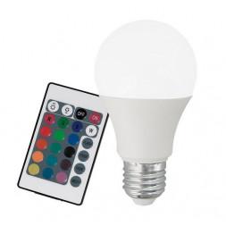 Лампа светодиодная диммируемая E27 7,5W 3000K матовая 10899
